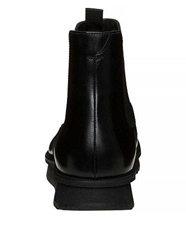 PRADA Messieurs Bottines cuir véritable Noir