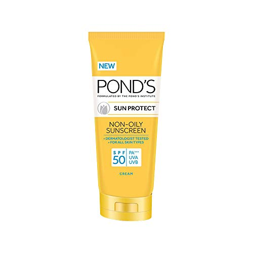 POND'S SPF 50 Sun Protect Non-Oily Sunscreen, 80 g