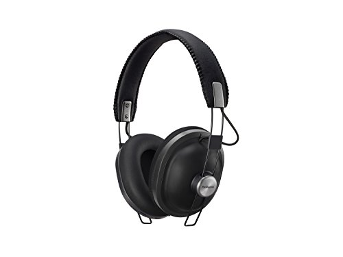 Panasonic Bluetooth Kopfhörer RP-HTX80BE-K in schwarz (Over-Ear, bis 24 h Akkulaufzeit, Quick Charge, 40mm Wandler, Sprachsteuerung)