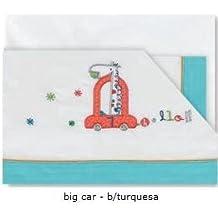 Pirulos- Juego de Sábanas Bebé- Colección Big Car