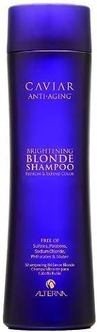 Alterna Caviar Anti-Aging Brightening Blonde Shampoo by Alterna (English Manual)