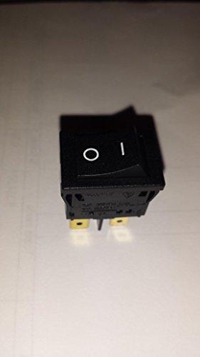 Castellari Intervall-Abdeckung, 4 polig, 12 A, 250 V, AC/I/O für Elektrische Absaugung