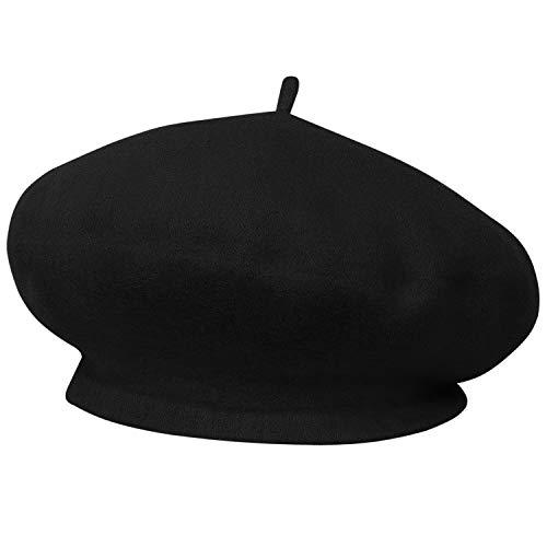 TRIXES Boina Francesa para Fiestas de Disfraces - Sombrero Temático - Boina  Vasca - Un Tamaño f29bbf76b5f