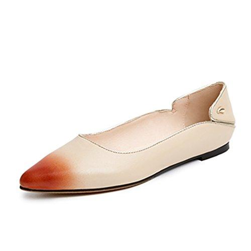 Nine SevenBallet Flats - Sandali con Zeppa donna apricot