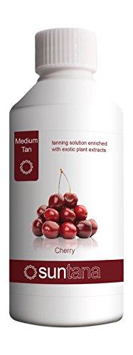 Suntana's Cerise parfumé Spray Tan Solution (Medium 10%) - 250ml