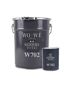 Bevorzugt 2K Epoxidharz Farbe Garagenfarbe Bodenbeschichtung W702 Kieselgrau KL54