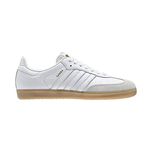 adidas Damen Samba W Fitnessschuhe, Weiß Ftwbla/Dormet, 38 2/3 EU