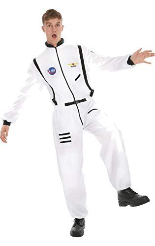 Mann Kostüm Rocket - ORION COSTUMES Adult Men's White Astronaut Costume