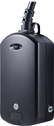 GE Bluetooth Outdoor Smart Switch (Plug-in), 13868by Jasco Products Company, LLC Bluetooth-ge