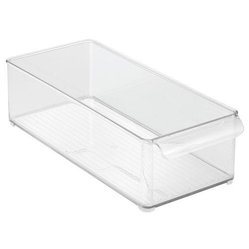 iDesign 73830EU Kühlschrank und Gefrierboxen, Tiefe Aufbewahrungsbox, durchsichtig