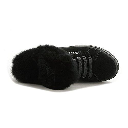 XTIAN , chaussures compensées femme Schwarz