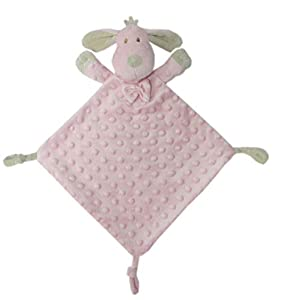 Duffi Baby Dou Topitos, 24 x 24 cm, Color Rosa (Master Baby Home, S.L. 4128-06)