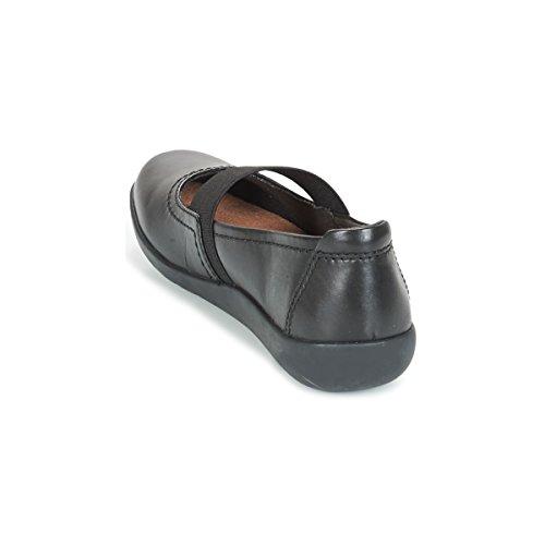 Clarks Alleato di Medora Casual scarpe da donna Black Leather