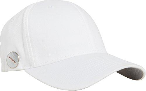 Flexfit Golfer Magnetic Button Cap, white, L/XL -