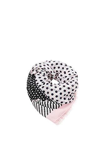 ESPRIT edc by Accessoires Damen 019CA1Q003 Schal, Rosa (Light Pink 690), One Size (Herstellergröße: 1SIZE)