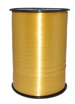Balloon Ribbon - 5mm curling ribbon x 500m - dull gold 5mm curling ribbon by Curling Ribbon & Satin Tying Ribbon (Ribbon Curling)