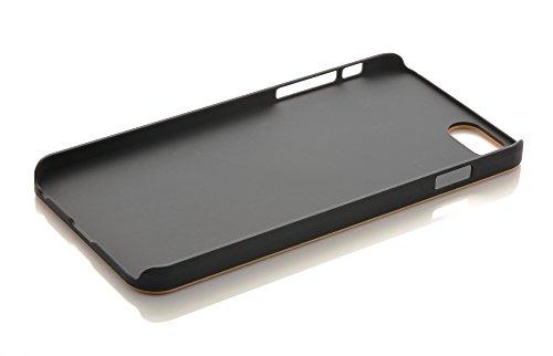 iProtect Apple iPhone 6 Plus, 6s Plus coque de protection en bois - coque rigide en bois de bambou Bois de poirier + Hard Case PC