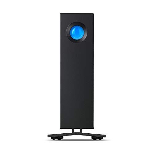 LaCie d2 Professional, externe Festplatte 4 TB, 3.5 Zoll, USB-C, für Mac & PC, schwarz, Modellnr.: STHA4000800