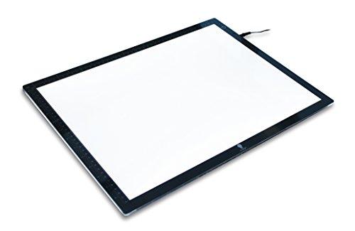 Daylight Wafer LED Lichtbox, 8 W zum Durchpausen und Skizzieren E35040