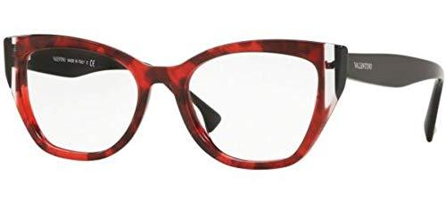 Valentino Brillen VA 3029 RED HAVANA Damenbrillen