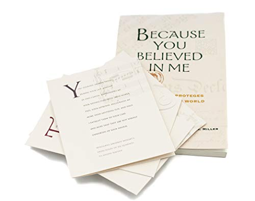 Because You Believed In Me Mentors & Proteges Who Shaped Our World, Historical Stories for Student, Leaders, Mentors, Mentees & The Young Professional, Mentoring Book with Success Affirmation Cards -