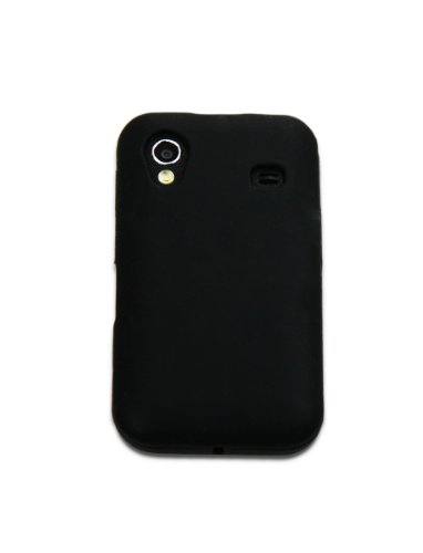 Luxburg In-Colour Design Custodia Cover per Samsung Galaxy Ace GT-S5830 colore Nero, in silicone