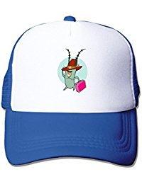 Plankton Spongebob Squarepants Fashion Mesh Trucker Hats