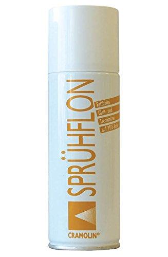 Preisvergleich Produktbild SPRÜHFLON 200ml Spraydose - fettfreies Gleit- und Trennmittel für höchste Ansprüche - ITW Cramolin - 1131411 - hochwertiges Aerosol auf PTFE-Basis