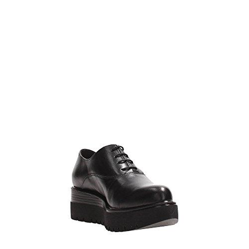 Tosca Senhoras Couro Sf1614s264 Sapatos Blu Schnürer Preto rw7WqU8Cwx