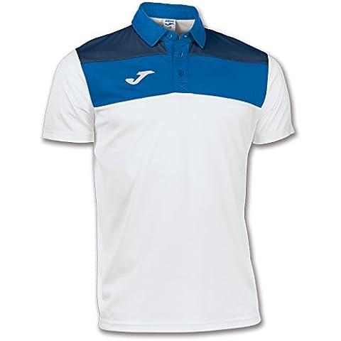 Joma - Polo CREW Blanc / Bleu