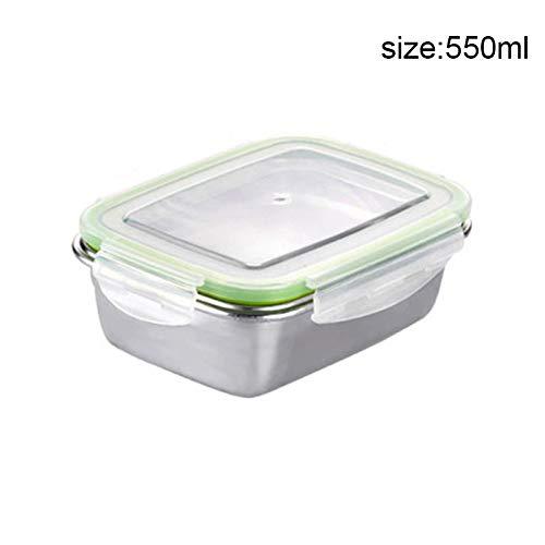 Carremark Edelstahl Thermische Isolierte Lunch Box Bento Box Schule Picknick Essen Container