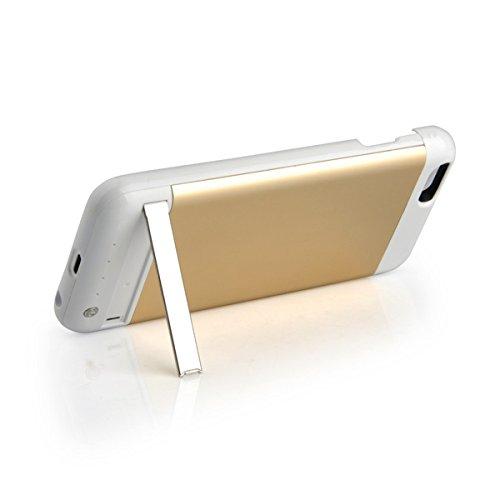 GDS Apple iPhone 6/6s. Charge treasure. intégré power. Mobile Téléphone portable boîtier doré