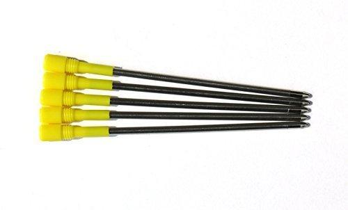 5x Ersatzminen für Kugelschreiber | blaue Tinte | D1 Länge 67mm refills | Kugelschreiber-Mine...