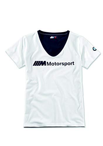 BMW M Motorsport T-Shirt Damen Logo (S)