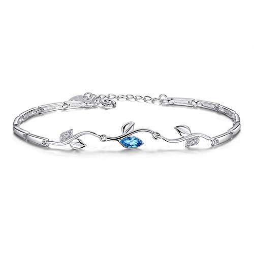 JB 925 Sterling Silber Armbänder Reben Mode Einfache Damen Armband -
