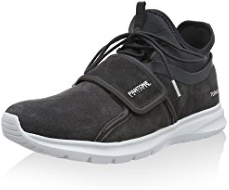 Pantone Universe Footwear Herren Milan Sneaker  Dunkelgrau  42 EU