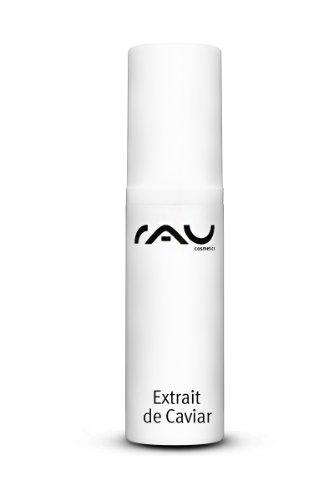 RAU Caviar 24h 5 ml - Crème 24h hydratante au caviar luxueux, Q10, vitamine E, huile d'amande, huile d'abricot, beurre de karité, pour les peaux sèches et sensibles - Taille Voyage Mini