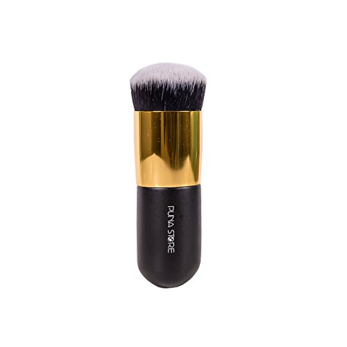 Puna Store Face Powder Blush Brush (Black + Gold)