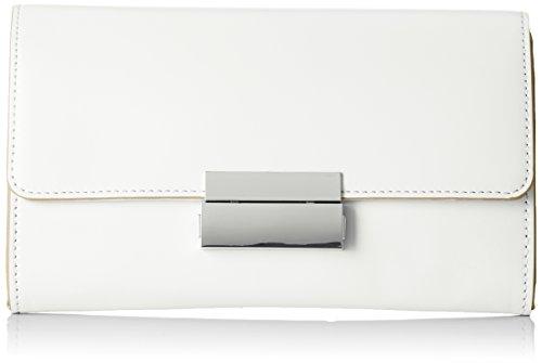 ESPRIT Damen 028ea1o047 Clutch, Weiß (Off White), 3x13x22 cm