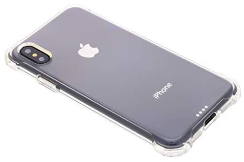 Spigen iPhone X Hülle, [Rugged Crystal] Extra Kantenschutz [Crystal Clear] Silikon Transparent Bumper Handyhülle TPU Durchsichtig Schutzhülle für iPhone X Case Cover - Crystal Clear (057CS22117) Crystal Clear Schutz