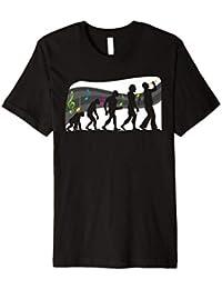 Schlager Evolution Schlagermusik Fan T-Shirt