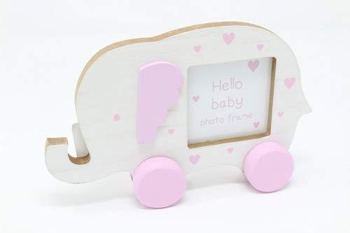 Rosa Baby Elefant Bilderrahmen Kinderzimmer Mädchen