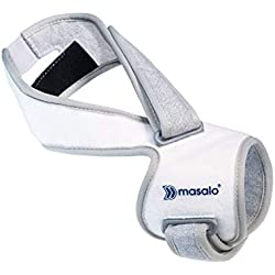 Masalo® Manschette MED - bei Tennisarm, Golferarm, Mausarm (Epicondylitis) (Größe 1 / rechter Arm)