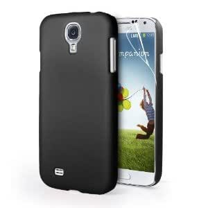 Generic Rubberised Frost Matte Hard Back Case Cover For Samsung Galaxy S4 i9500 - Black