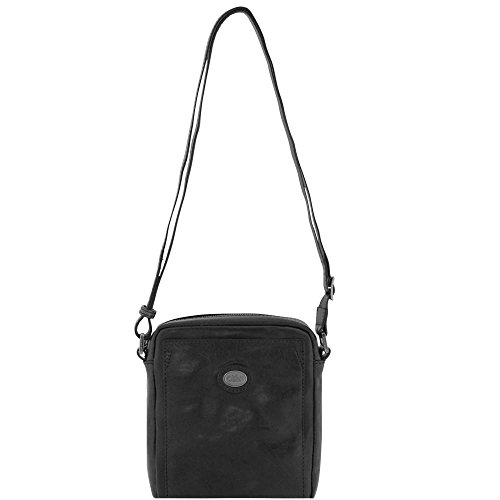 The Bridge Bureau Sac bandoulière cuir 18 cm nero