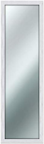 Specchio da parete MIRROR SHABBY CHIC 40X125 cm colore Bianco