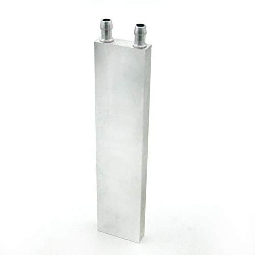 sdfghzsedfgsdfg Aluminium-PC CPU Laptop Radiator 40 80 120 160 200 240 Wasserblock für Flüssigwasserkühlung Kühl Refrigeration Spiel Silber