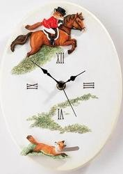 time-to-tally-ho-wall-clock-the-reynard-collection