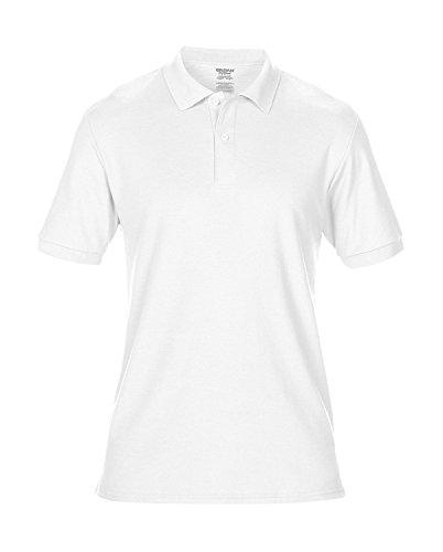 Komfort Sport-Poloshirt Herren leicht taillierte Passform White