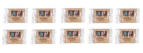 Lifestyle-Ambiente 10 Stück Boveda 58% 8 Gramm Befeuchter Pouch inkl Tastingbogen 58